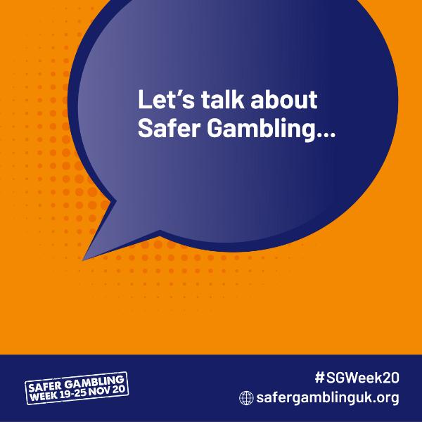 Safer Gambling Week Banners