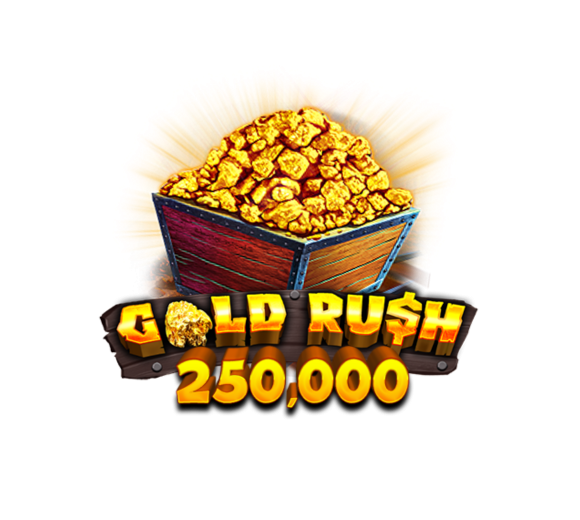 Gold Rush 250,000 Logo