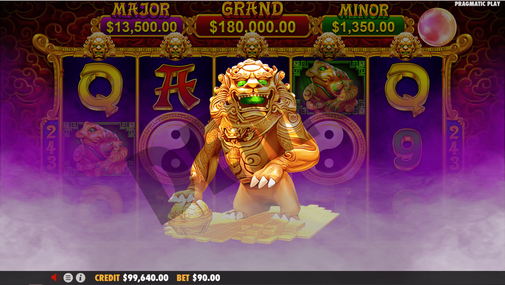 5 lions gold slot review