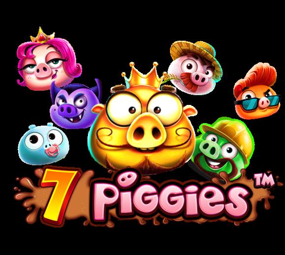 7 Piggies Logo