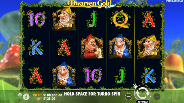 dwarven gold deluxe игровой автомат