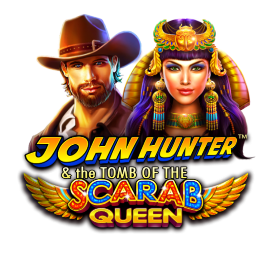 John Hunter and the Tomb of the Scarab Queen Logo