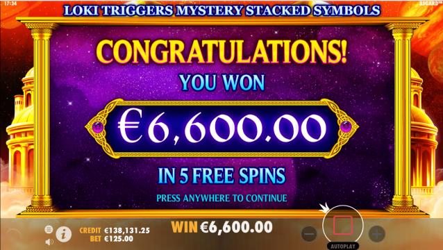 Skyvegas prize machine
