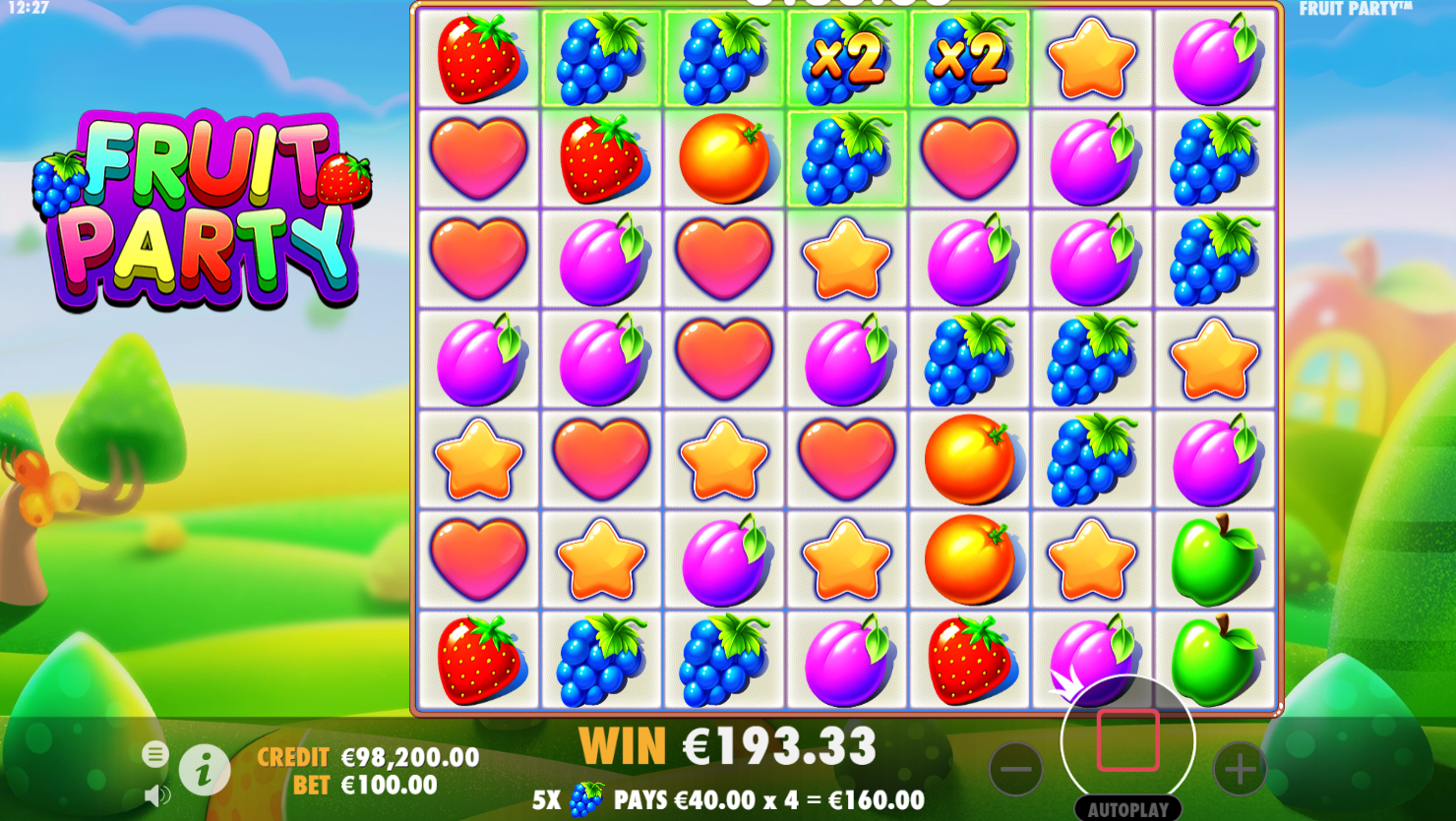 Fruit Party Slot Review - Pragmatic Play GamesPragmatic