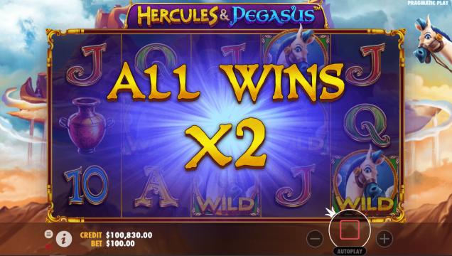 Hercules and pegasus pragmatic player