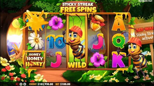 Honey Honey Honey รีวิว สล็อต- Pragmatic Play Games