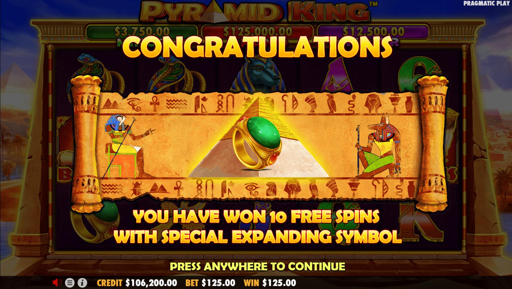 Pyramid king король пирамид игровой автомат эффективной онлайн