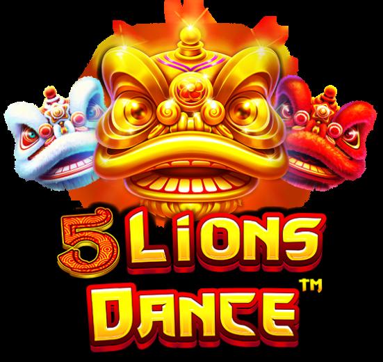 5 Lions Dance Logo