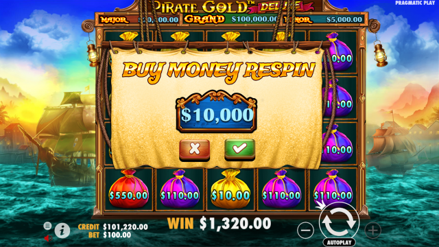 Review Slot Pirate Gold Deluxe Pragmatic Play Games
