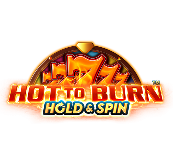 Hot to Burn Hold and Spin Logo