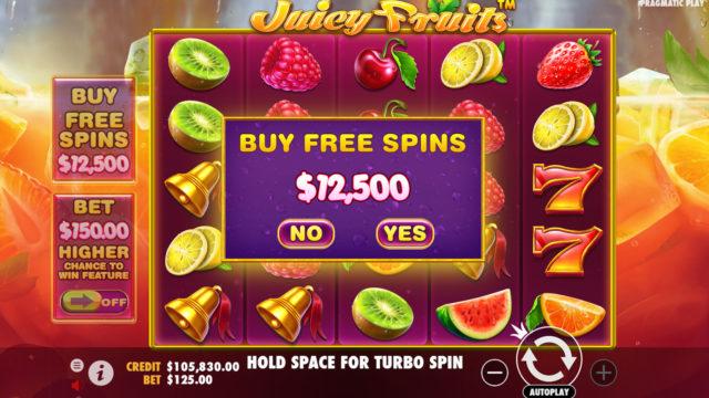 Juicy Fruits: Buy free spins