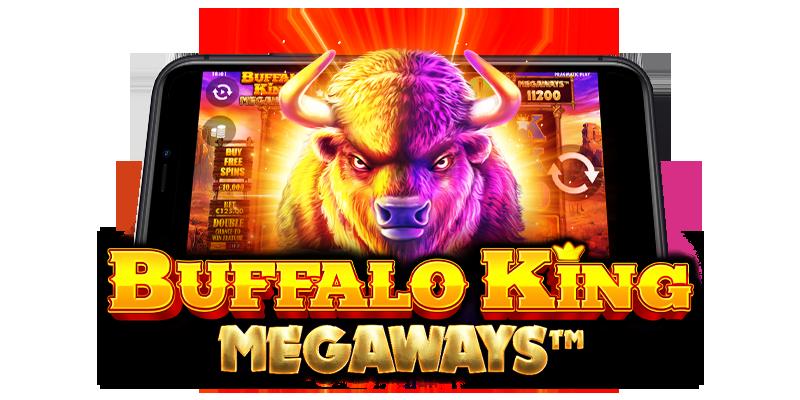 Buffalo King Megaways Logo