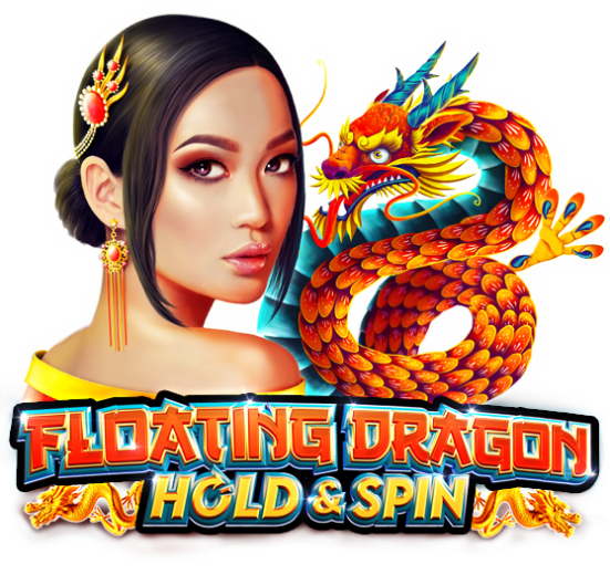 Floating Dragon Hold and Spin™ Logo