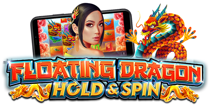 Floating Dragon Hold and Spin Logo