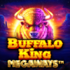 The Buffalo returns on the North American prairies in Buffalo King Megaways Thumbnail